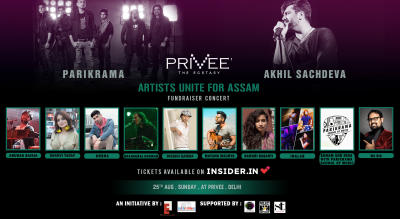 Artists Unite For Assam | Fundraiser Concert
