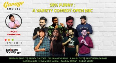 50% Funny: a variety Comedy SHOW