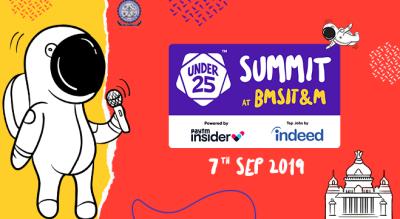 Under 25 Summit at BMSIT&M | Bangalore