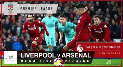 Liverpool v Arsenal | Official Screening Mumbai