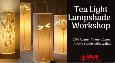 Tea Light Lampshade Workshop