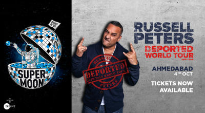 Supermoon ft. Russell Peters Deported World Tour, Ahmedabad