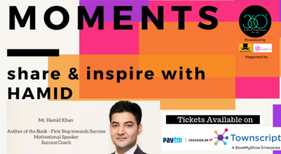 Moments- Share & Inspire with Hamid.