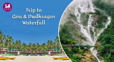 HikerWolf - Goa Trip & Dudhsagar Watefall