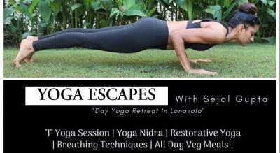 YOGA ESCAPES with Sejal Gupta (Day Yoga Retreat In Lonavala)