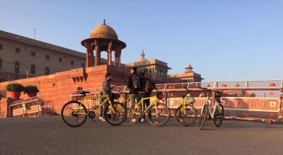 Explore Imperial Delhi on Bicycle