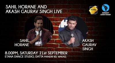 Sahil Horane and Akash Gaurav Singh Live
