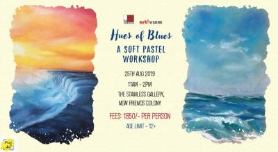 Hues of Blues - A Soft Pastel Workshop