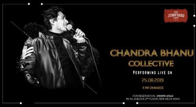 Chandra Bhanu Collective Performing Live