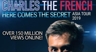 Charles The French Here Comes The Secret (Asia Tour)