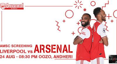 Liverpool v Arsenal | AMSC Official Screening