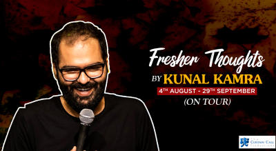 Fresher Thoughts by Kunal Kamra Hyderabad
