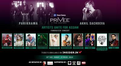 Artists Unite For Assam | Fundraiser Concert