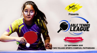 Born To Play Table Tennis League: September'19 Edition