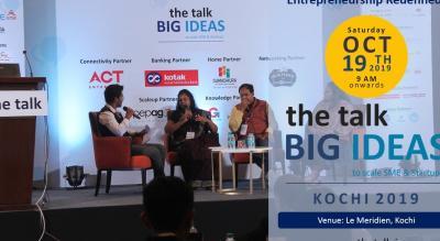the talk BIG IDEAS Kochi 2019
