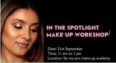 In the Spotlight! (Make-up workshop)