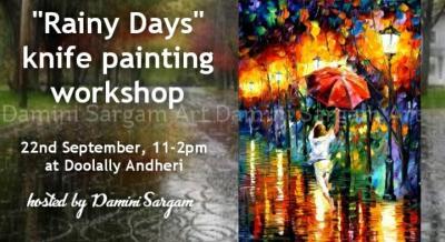 Knife Painiting Workshop