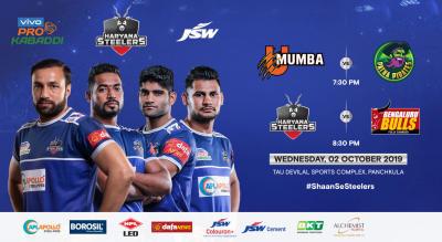 VIVO Pro Kabaddi 2019 - U Mumba v Patna Pirates and Haryana Steelers v Bengaluru Bulls