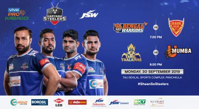 VIVO Pro Kabaddi 2019 - Bengal Warriors v Dabang Delhi K.C. and Tamil Thalaivas v U Mumba