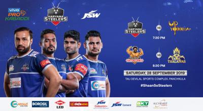 VIVO Pro Kabaddi 2019 - Haryana Steelers v U.P. Yoddha and Gujarat Fortunegiants v Tamil Thalaivas