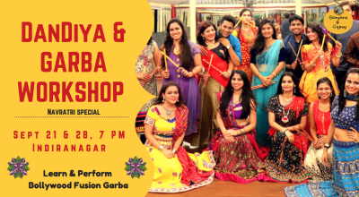 Garba and Dandiya Workshop