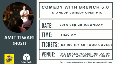 Comedy with Brunch 5.0