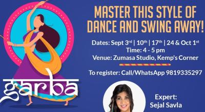 Garba workshop by MoveAhead