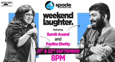 Weekend Laughter - Sumit Anand and Pavitra