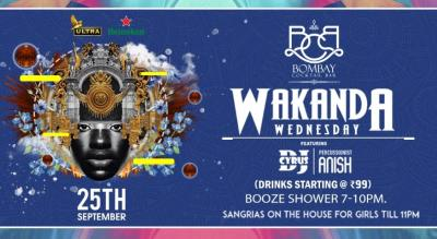 Wakanda Wednesday ft Dj Cyrus & Percussionist Anish.