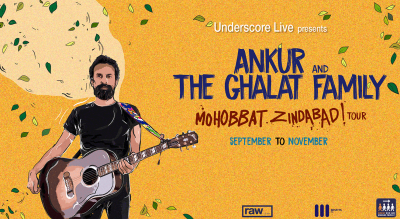 Pre-Register for Underscore Live Presents Ankur & the Ghalat Family - Mohobbat Zindabad Tour