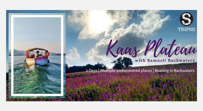 Kaas Plateau and Bamnoli Backwater Boat ride