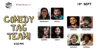 Grin Revolution: Comedy Tag Team