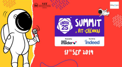 Under 25 Summit at VIT | Chennai