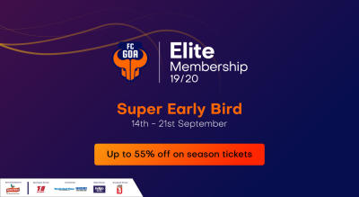 HERO ISL 2019 - 20 : FC Goa Membership