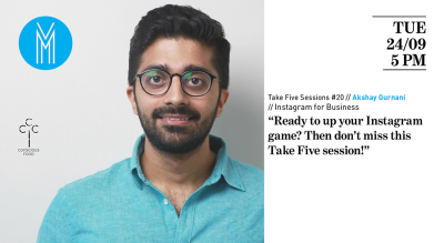 Take Five Session #20 - Instagram for Business w/ Akshay Gurnani