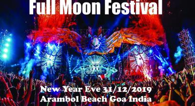 Fullmoon festival 2019 New Year Eve 2020