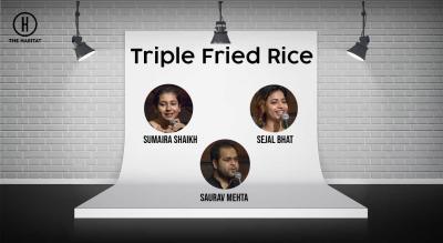 Triple Fried Rice