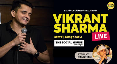 Vikrant Sharma Live