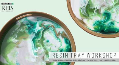 Resin Tray Workshop