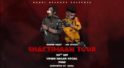 Azadi Records Presents Seedhe Maut x Mo Styles: Shaktimaan Tour (Pune)