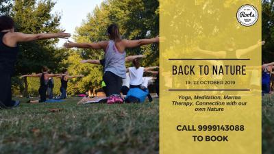 Back To Nature: Yoga Retreat