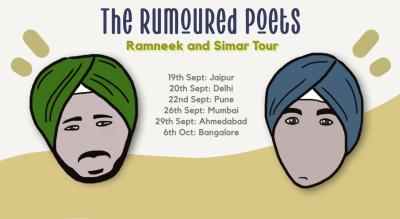 The Rumoured Poets: Ramneek & Simar Tour | Delhi