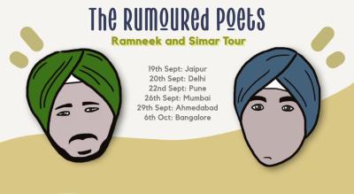 The Rumoured Poets: Ramneek & Simar Tour | Mumbai