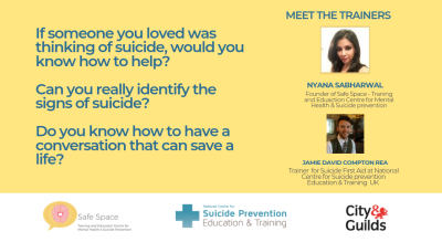 Suicide First Aid Training Certification