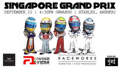 F1 Singapore Grand Prix At The Stables, Andheri