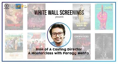 White Wall Screenings presents- Role of a Casting Director