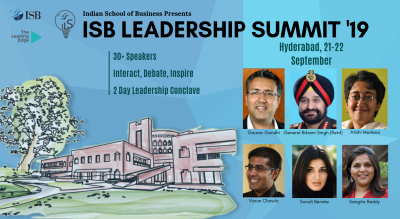 ISB Leadership Summit 2019