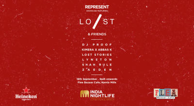 Represent Showcase ft. Lost Stories & Friends at FLEA Bazaar Cafe