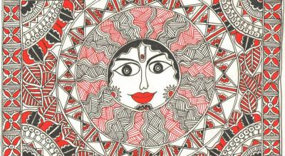 Madhubani on Canvas