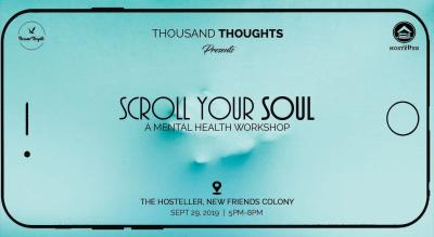 Scroll Your Soul- A Mental Health Workshop